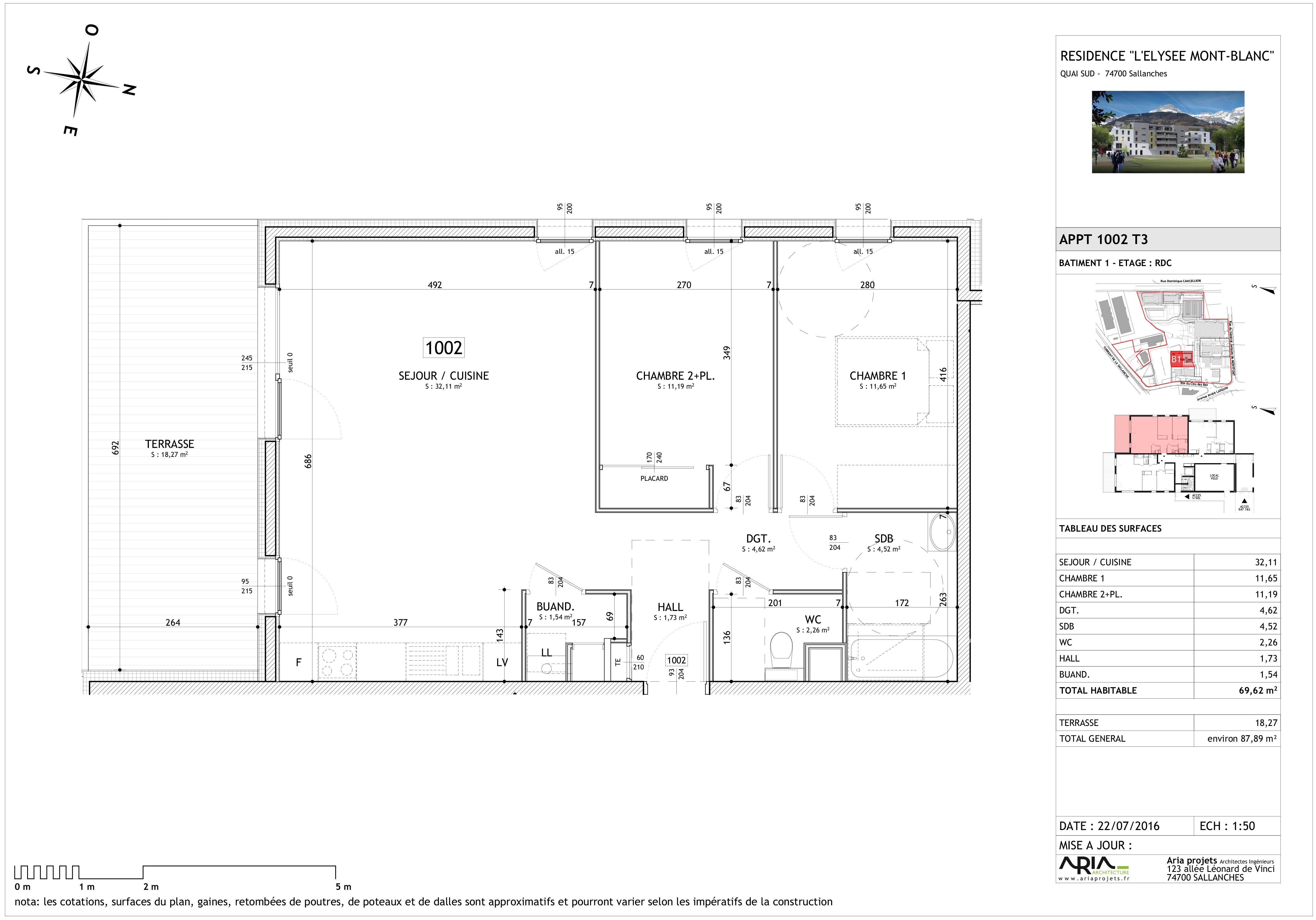 appartement 1002 de type T3