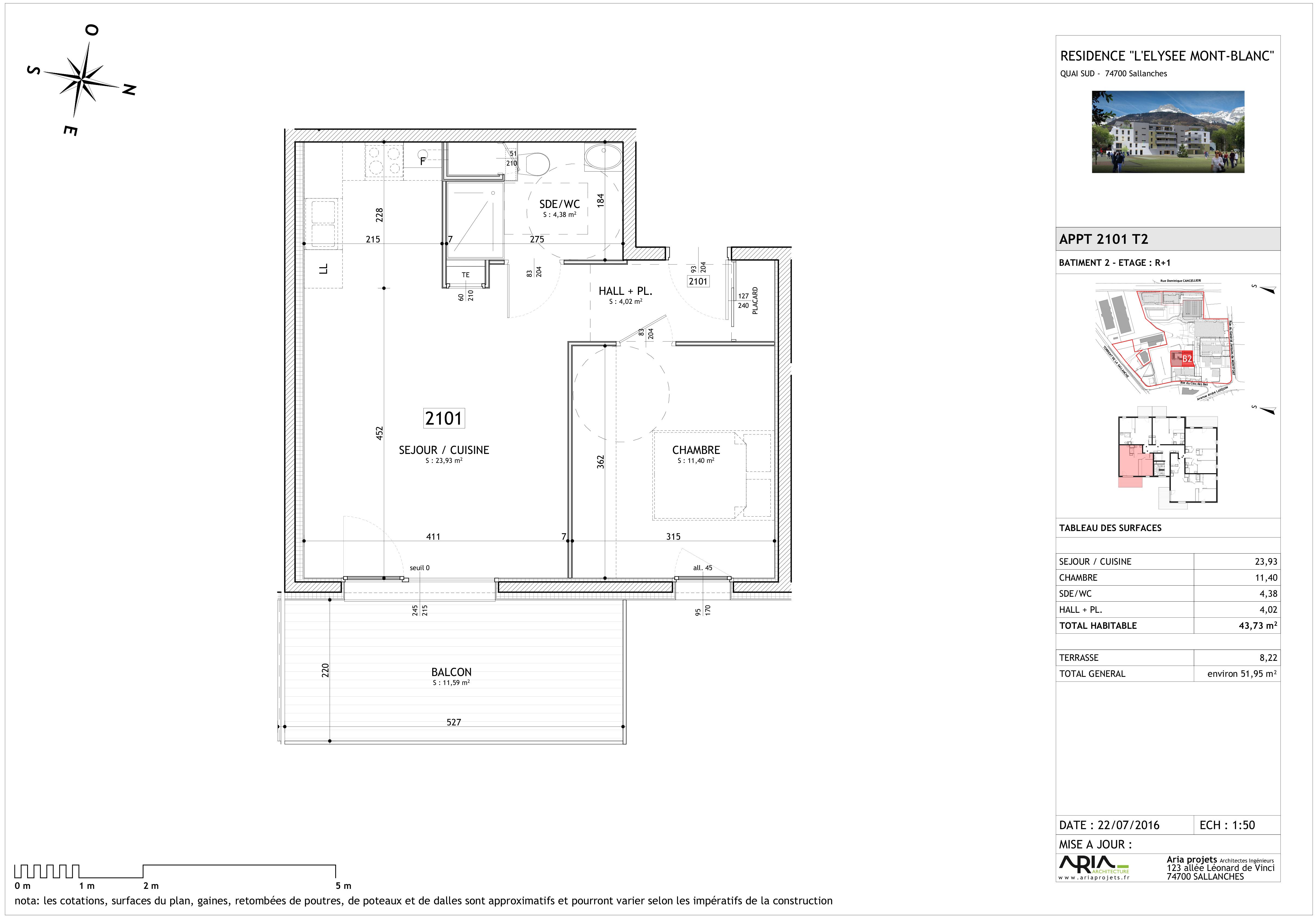 appartement 2101 de type T2