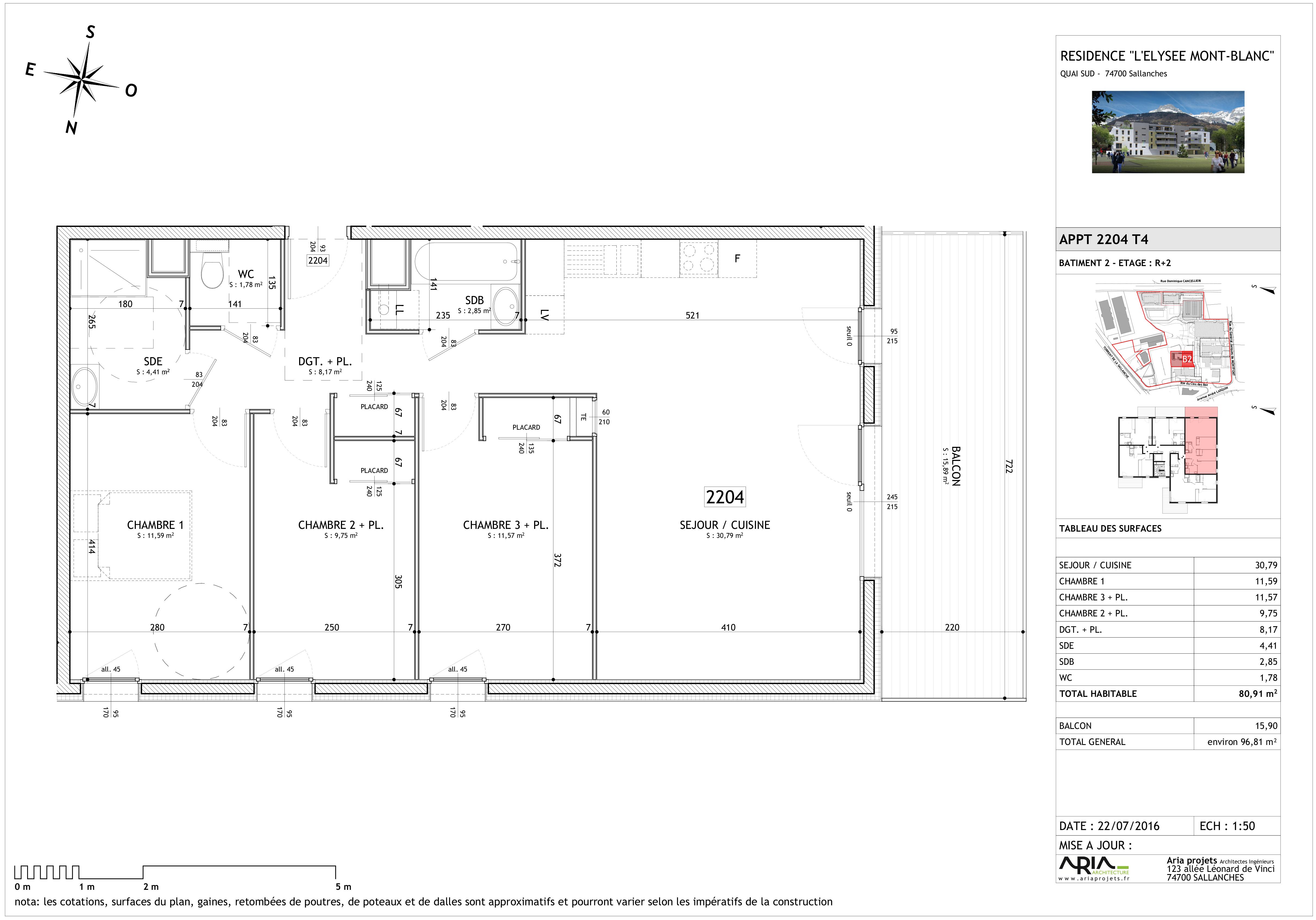 appartement 2204 de type T4