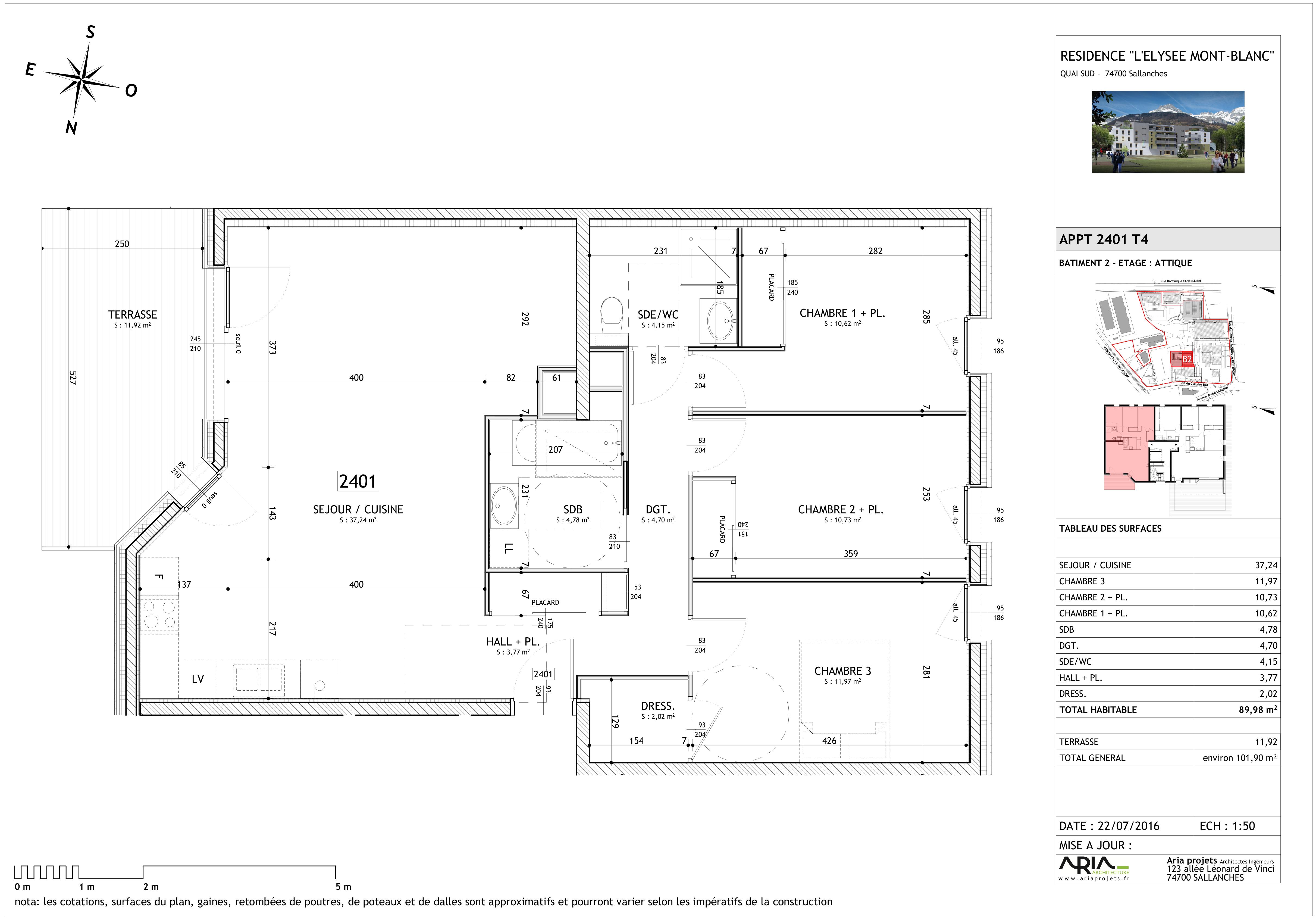 appartement 2401 de type T4