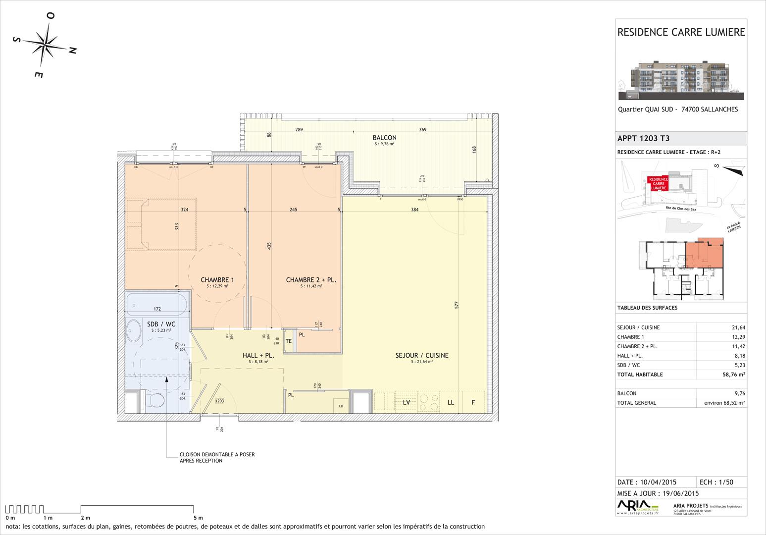 Visite 3d de l 39 appartement neuf 1203 en vente sallanches for Projet appartement neuf